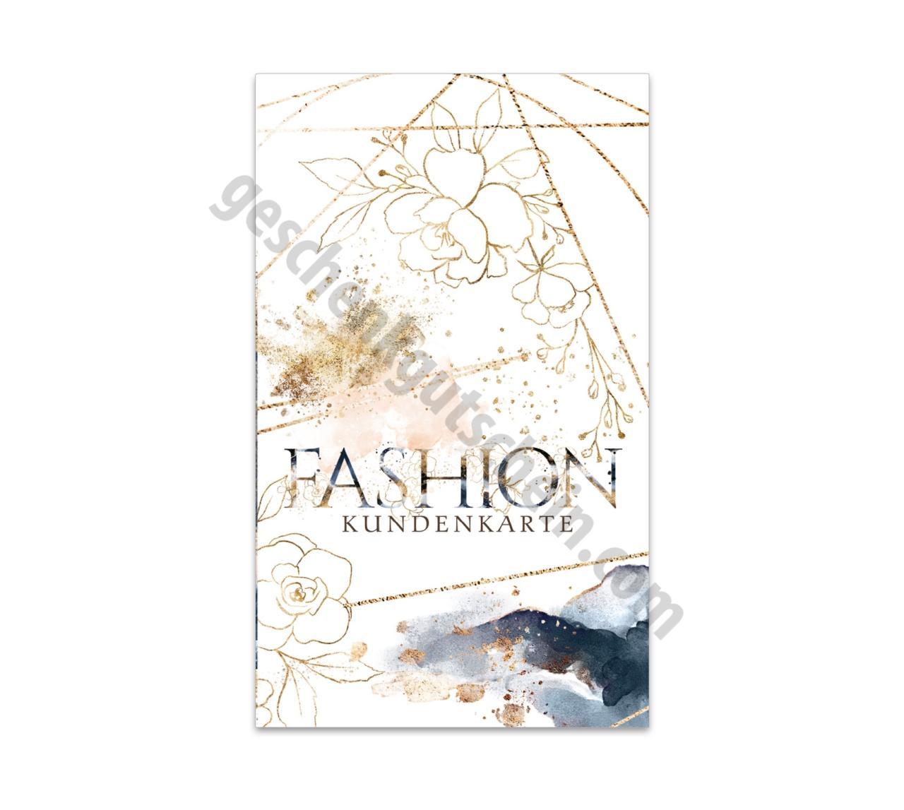 Jeans FA570 Kundenkarten f/ür Mode 200 Stk Bekleidung Fashion