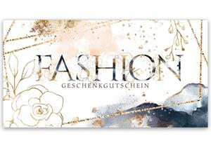 Gutschein Geschenkgutscheine Geschenk Gutscheine für Kunden Druckerei blanko bestellen Karten hauer FA272 Mode Damenmoden Boutique Modeboutique Fashion