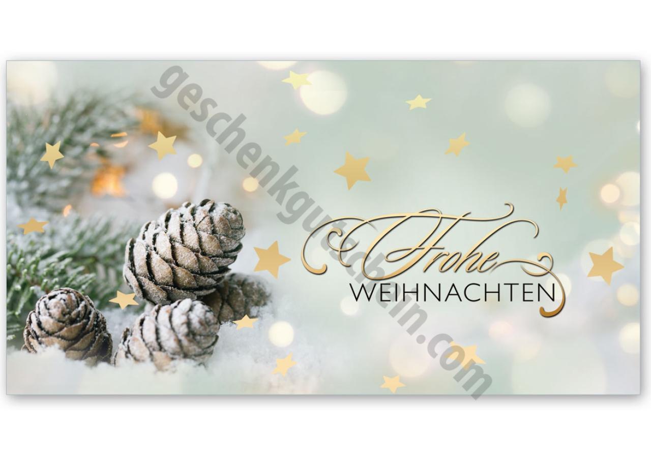 Colorful Druckbare Weihnachten Geschenkgutschein Photos ...