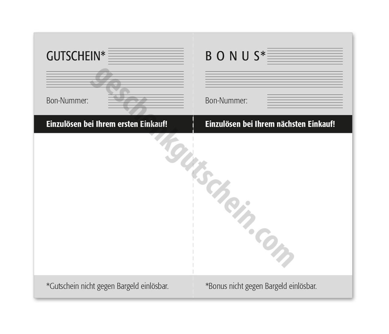 u611 empfehlungskarte mit den sch nsten geschenkgutscheinen und. Black Bedroom Furniture Sets. Home Design Ideas