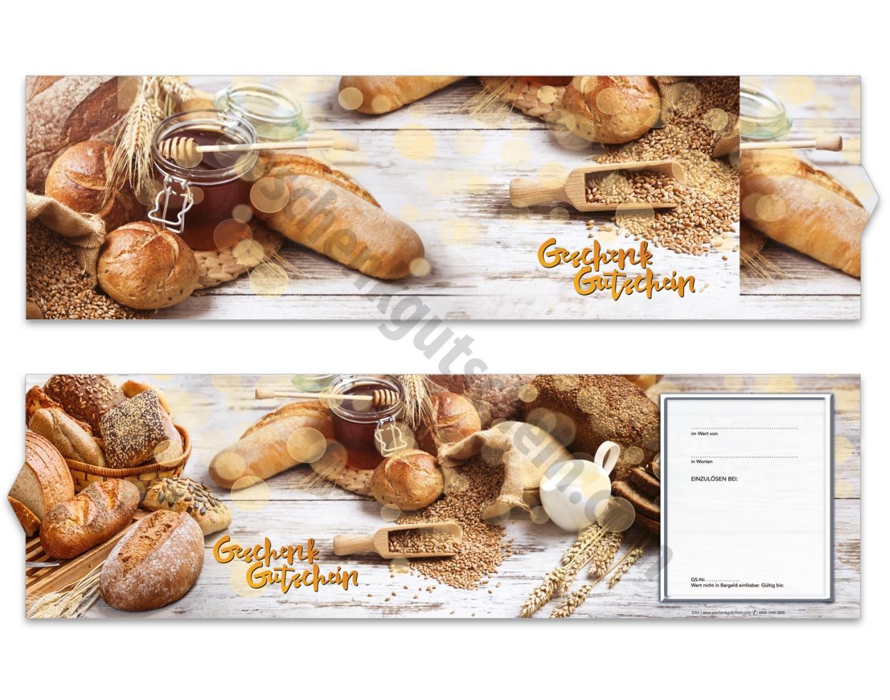 c38a01251b S703 Booklet-Gutschein / Bäckerei Konditorei | Geschenkgutschein.com ...