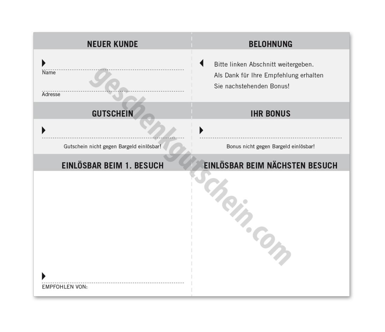 Gemütlich Cash Gutschein Vorlage Excel Fotos - Beispiel Anschreiben ...