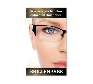 Brillenpass Kundenbindung Brillenpässe OP561 Optiker Brillen Optik