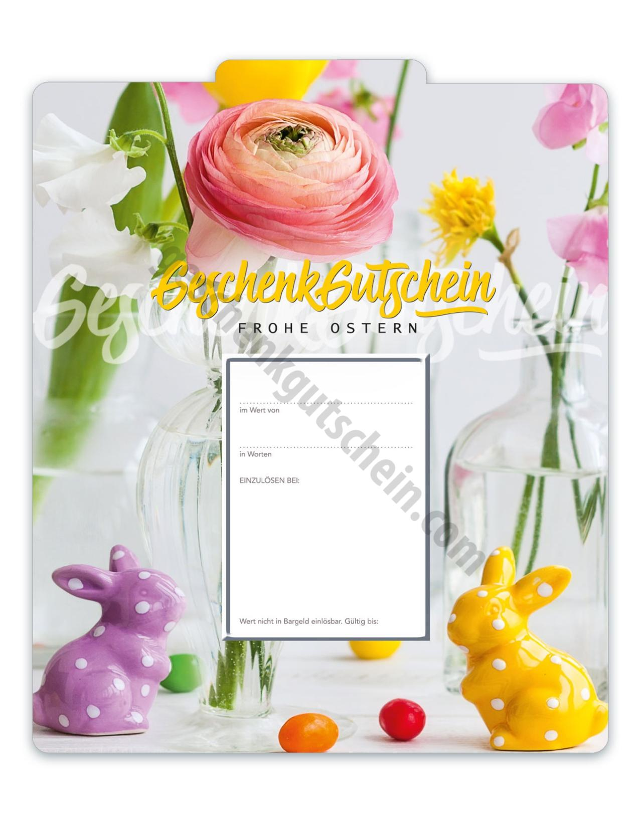 U253 Faltgutschein Multicolor | Geschenkgutschein.com - Mit den ...