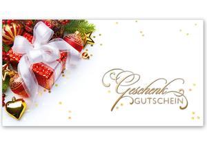X221 Geschenkgutschein Multicolor Zum Falten Für Weihnachten