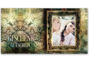 Gutschein Geschenkgutscheine Geschenk Gutscheine für Kunden Druckerei blanko bestellen Karten hauer FA248 Mode Damenmoden Boutique Modeboutique Fashion