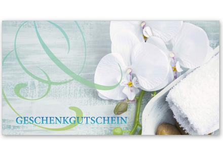 Gutschein Geschenkgutscheine Geschenk Gutscheine für Kunden Druckerei hauer KS273 Massage Kosmetik Massagepraxis Massagegutschein Wellness Spa Kosmetikinstitut Naturheilkunde Physiotherapie