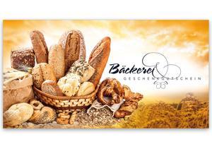 3f8e542179 Gutschein bestellen Faltgutschein blanko Gutscheine Card Geschenkgutschein  Vorlage Geschenkgutschein-shop S221 Bäckerei Konditorei Bäckergutschein